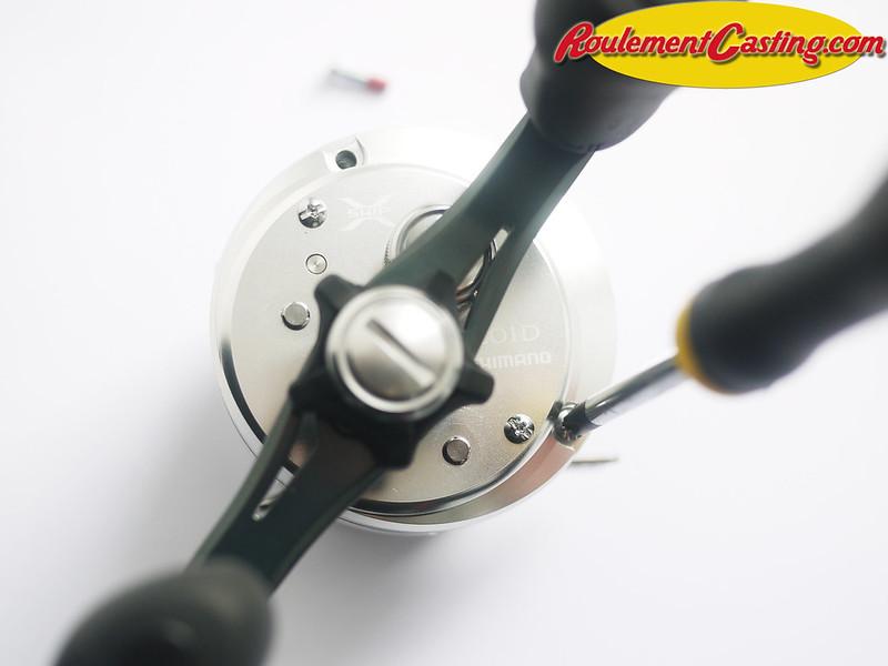 Shimano Calcutta 201D Orange seals BocaBearings 3