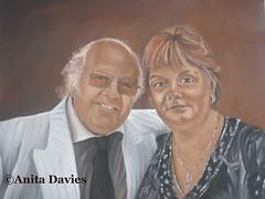 PortraitDuoCommission by Anita Davies