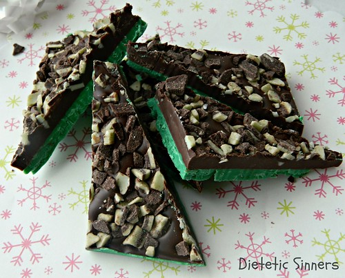 Minty Chocolate Bark