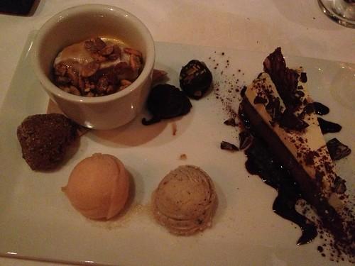 Dessert at Millennium
