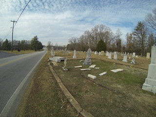 Batesville Road and Ebenezer Methodist Cemetery