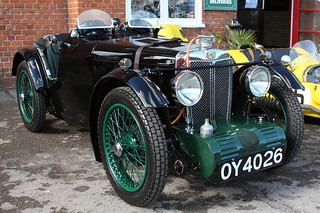 Brooklands Autumn Motorsport Day 2012 - 1932 MG (OY 4026)