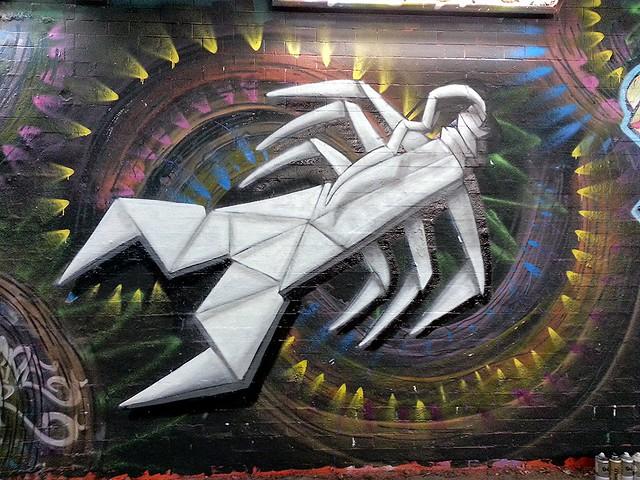Origami Scorpion Details...