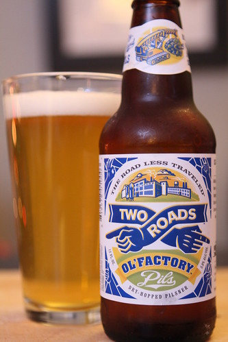 Two Roads Brewing Co. Ol'Factory Pils
