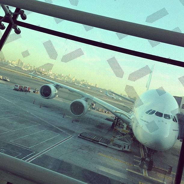 Seeya Dubai, hello A380.