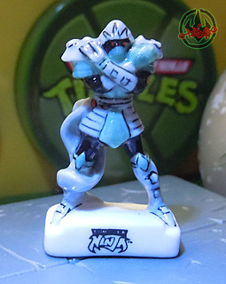 PRIME :: TORTUES NINJA  porcelain miniature prototypes xxvii / SHREDDER (( 2009 ))