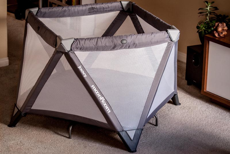 the new, out of this world, Moon Room {Joovy} + Giveaway travel portable crib play yard play naptime baby gear
