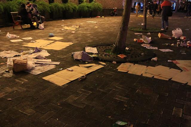 2013台北市跨年晚會垃圾-74-201301010112-賴鵬智攝