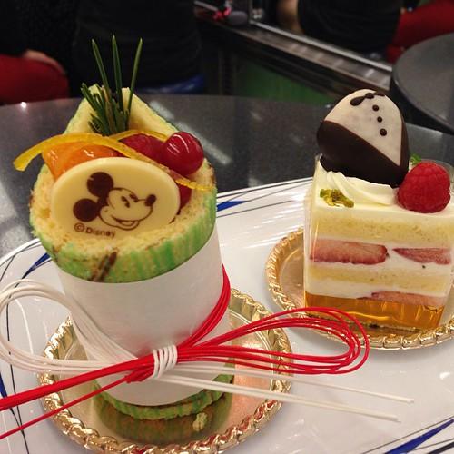 チックタックダイナーでケーキ。
