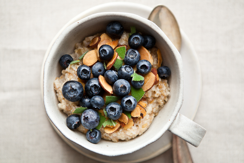 Blueberry Porridge - Bon Appetit