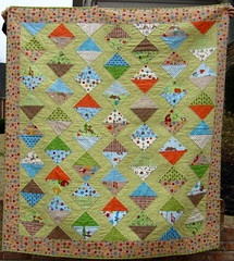 Fox Trails Quilt, front