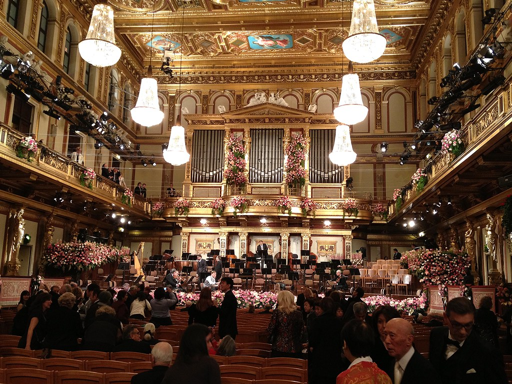 The New Year's Eve Concert 2013 at The Wiener Musikverein