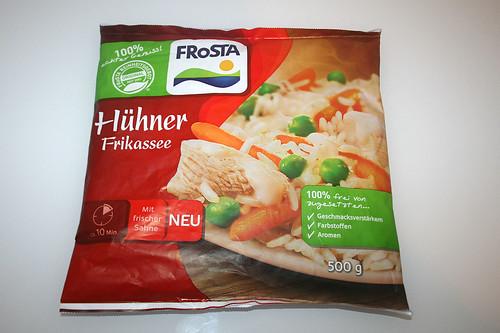 01 - Frosta Hühner Frikassee - Packung vorne