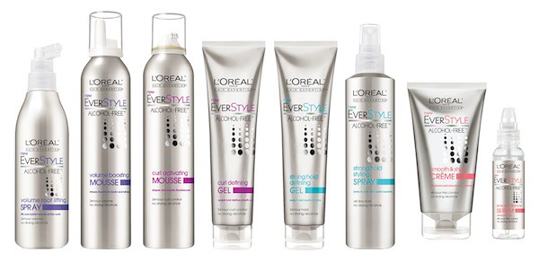 L'Oreal Ever Style Hair Care Line