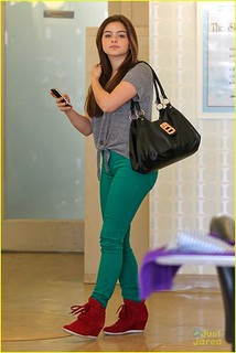 Ariel Winter Wedge Sneakers Celebrity Style Women's Fashion