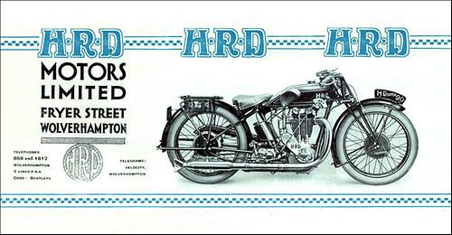 1928 HRD Motorcycles by bullittmcqueen