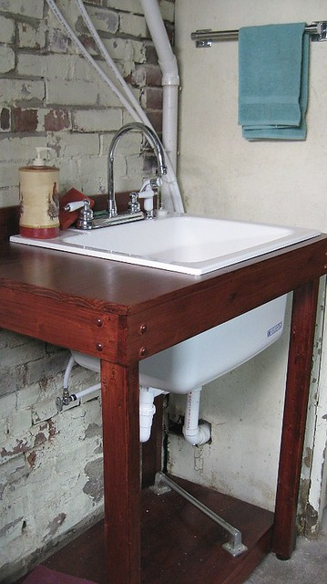 Basement Sinks : After: Basement Utility sink Flickr - Photo Sharing!