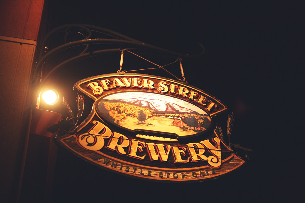 beaver st brewery sign