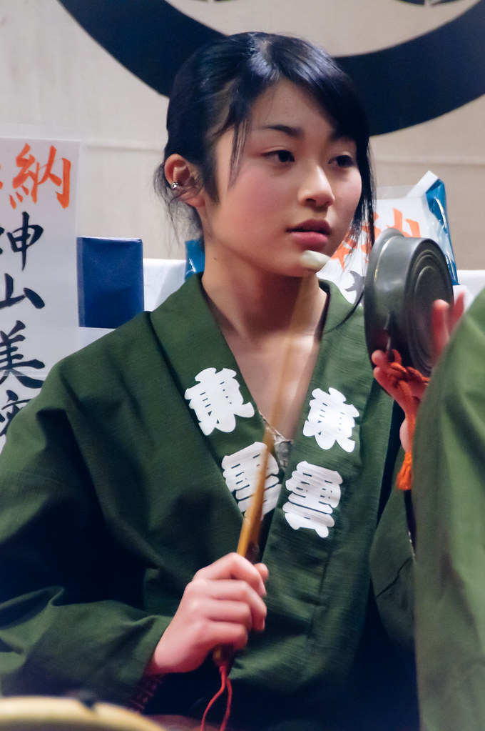 Beautiful Girl in the Shrine