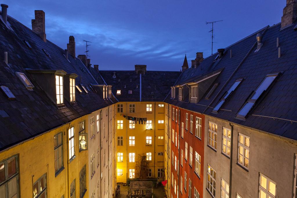 Copenhagen Courtyard