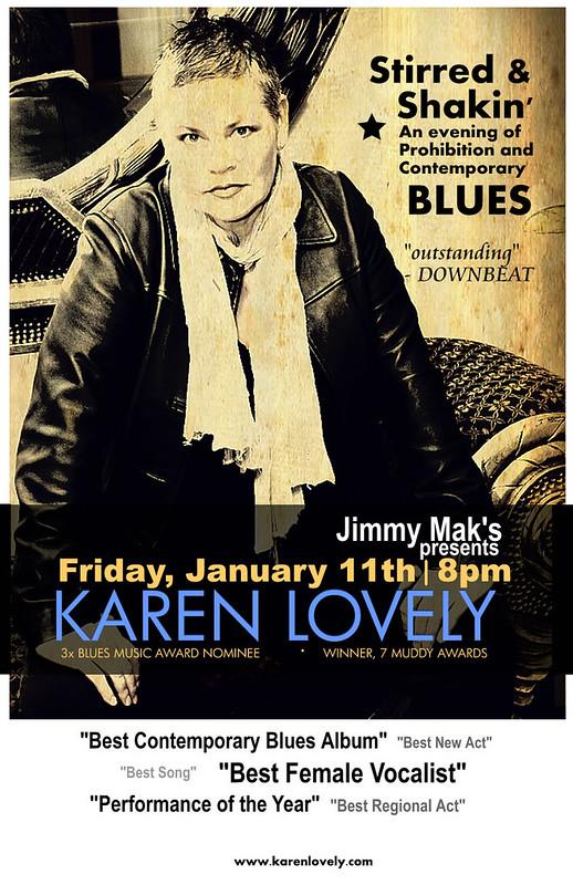 Karen Lovely @ Jimmy Mak