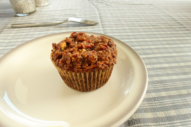 carrot banana muffin