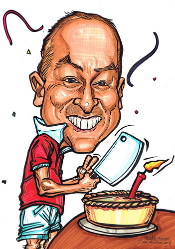 Birthday caricature 19052012