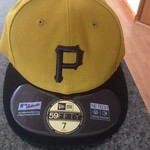 2013 Authentic Pirates Home Sunday Alternate Hat
