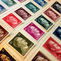 A quién pertenece la imágen conmemorativa inmortalizada en un timbre postal?