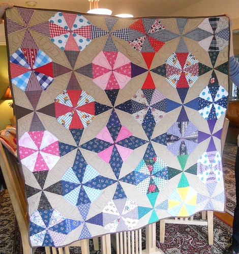 Kaleidoscopic Quilt