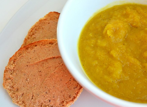 Curried Acorn Squash & Apple Soup
