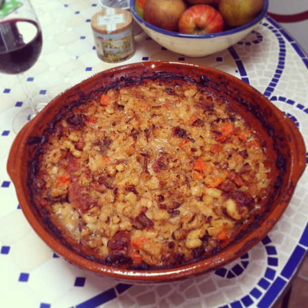 Cassoulet - the final dish