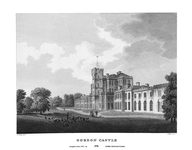 etching: Gordon Castle