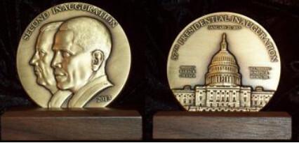 2013 Inaugural medal