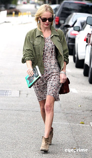 Kate Bosworth Ankle Boots Celebrity Style Women's Fashion