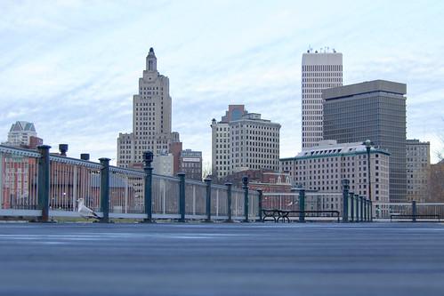 Providence Skyline by rilurky via I {heart} Rhody