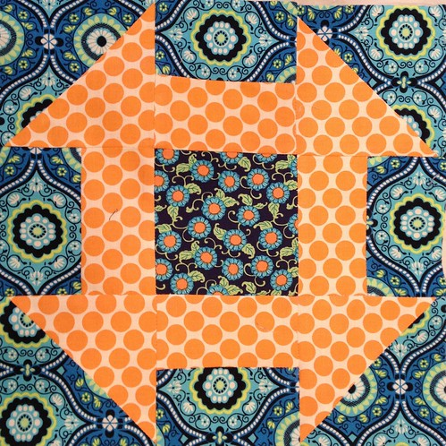 Stitch that Stash Bee - January - Churn Dadh (block 2)