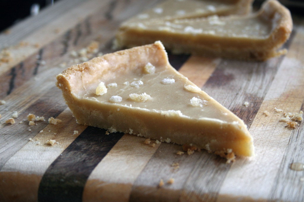 ginger slice, take two, with crystallized ginger