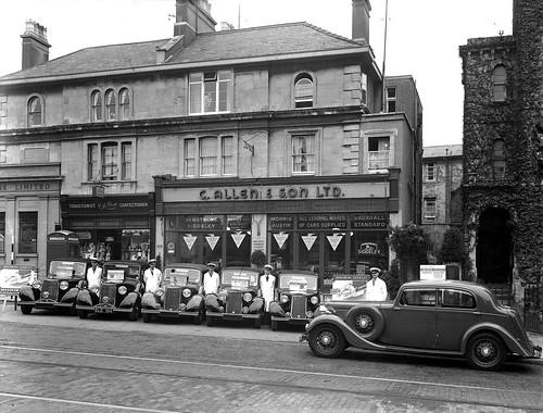 Allen & Son Ltd - Whiteladies Road, Bristol 1937-38