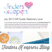 Finders Keepers 5 things