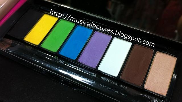 MUFE Technicolor Palette