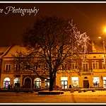The Market Square in Jaslo, Poland