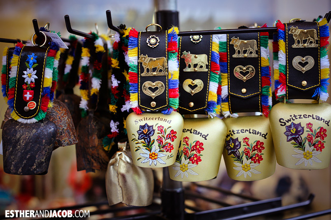 Switzerland Cow Bells in Lucerne / Luzern Switzerland | Travel Photography