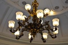 Senate Chamber chandelier