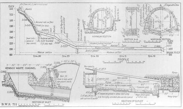 Report 1911 Waste Conduit Drawing