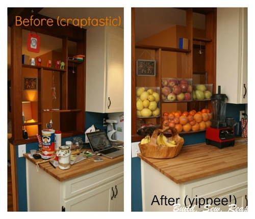 Passthrough Before and After - Kitchen