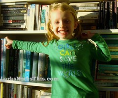 Girls can save the world shirt