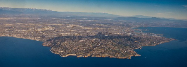 California from the air