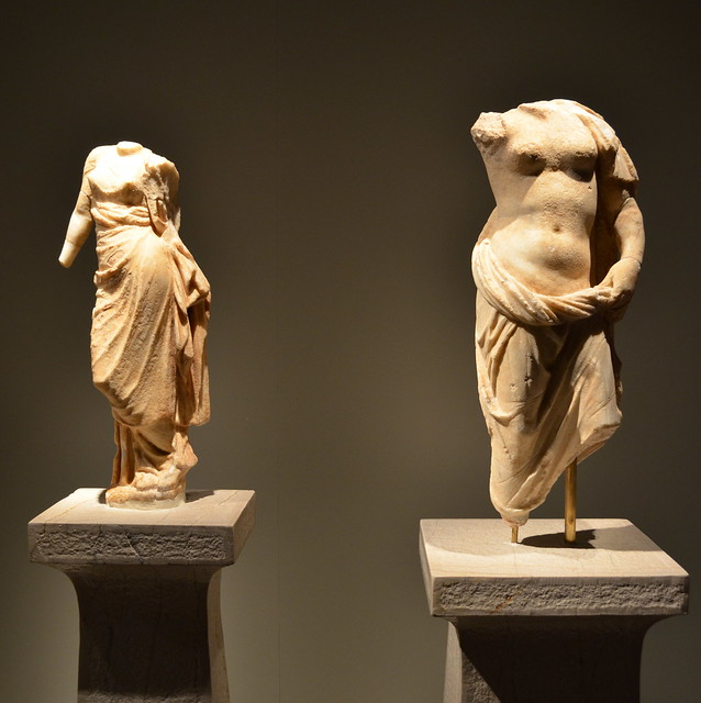 Statues of a goddess (Aphrodite?) and Aphrodite | Flickr ...
