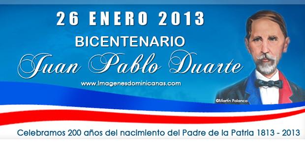Bicentenario Nacimiento de Duarte